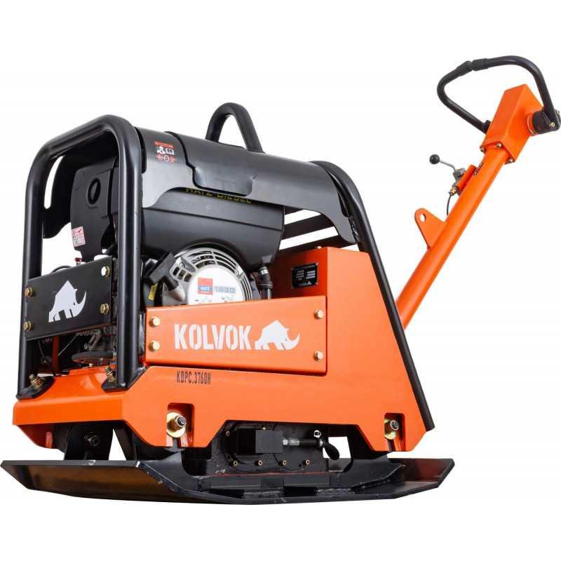 Placa Compactadora Diesel 7.3 HP KDPC3760H 3.700kg Kolvok 103011621