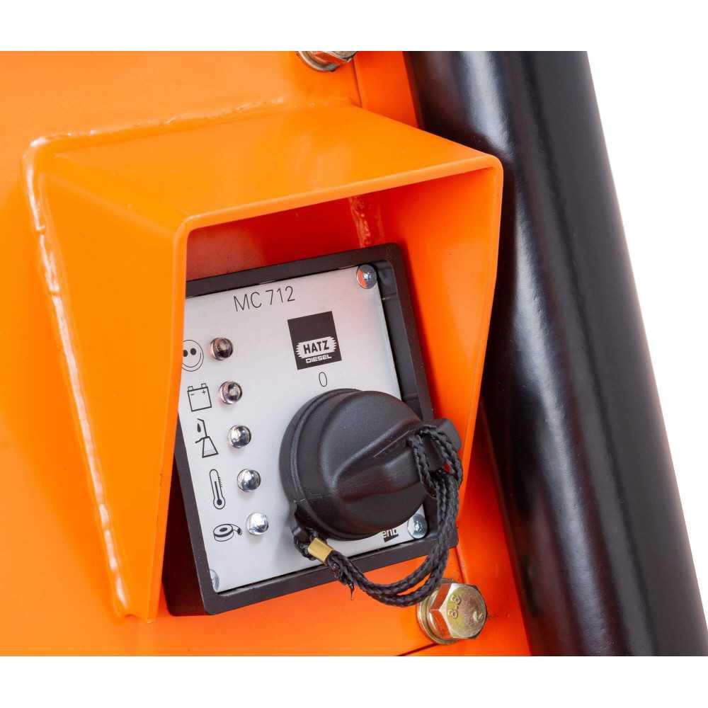 Placa Compactadora Diesel 10.2 HP KDPC5065H 5.000 Kg Kolvok 103011623