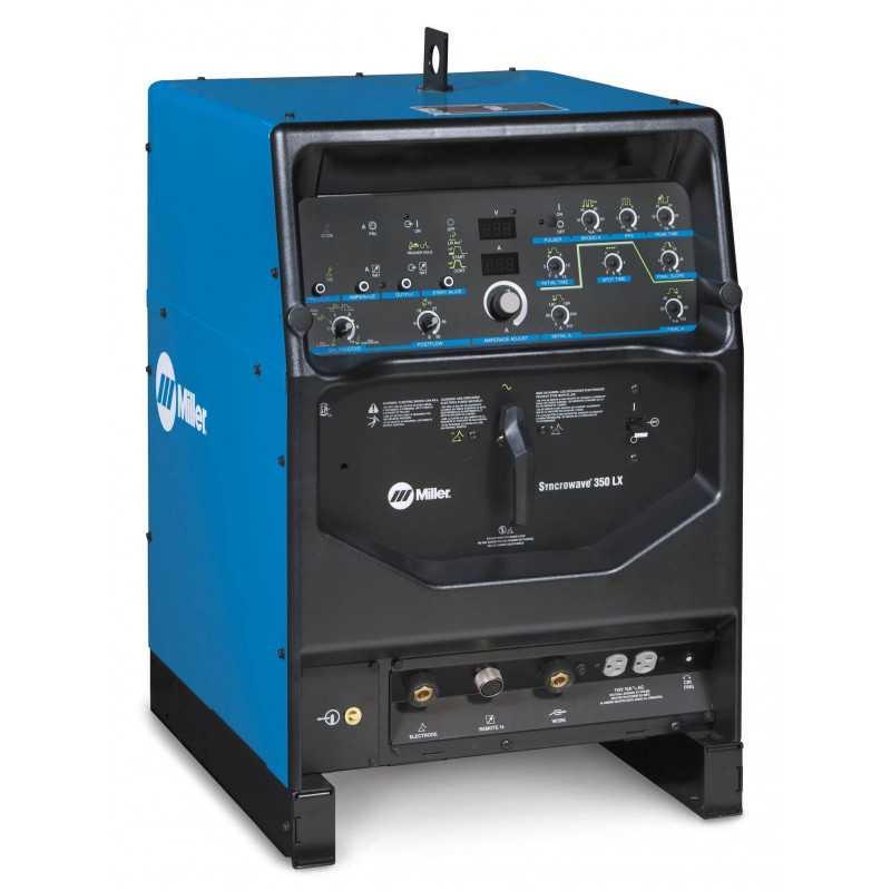 Soldadora Tig Syncrowave® 350 LX 220/400/440/520V 400A 907517 Miller MET-111508