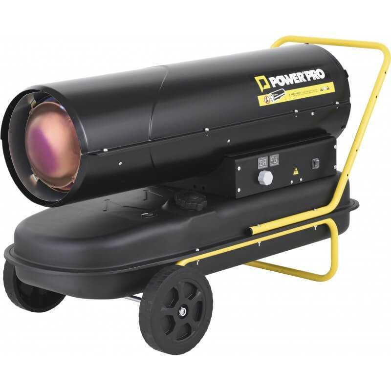 Turbo Calefactor Diesel/Kerosene 50KW DHT50R Power Pro 103010925