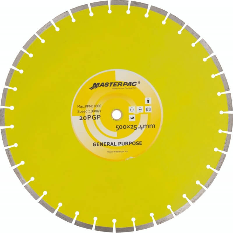 """Disco de Corte Pavimento 20"""" (500mm) KD20 Kolvok 103011613"""