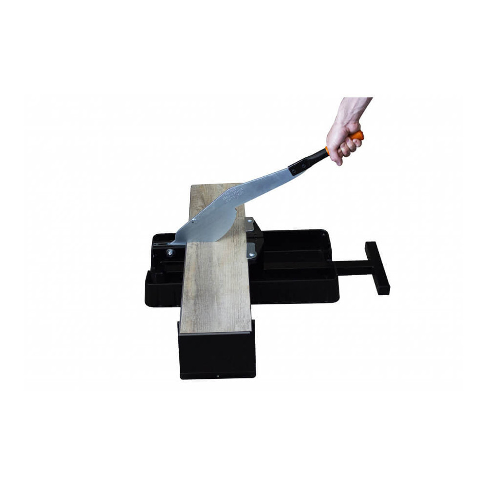 Guillotina para piso flontate y parquet estratificado STRATICUT 230 LVT Edma 089355