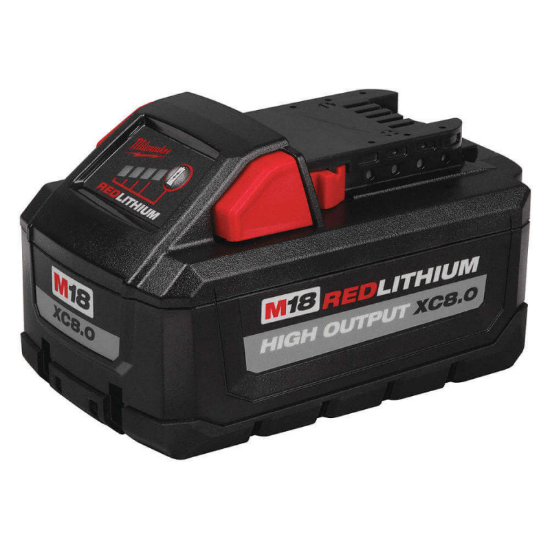 Batería Ion Litio 8.0Ah 18V M18 REDLITHIUM HIGH OUTPUT Milwaukee 48-11-1880