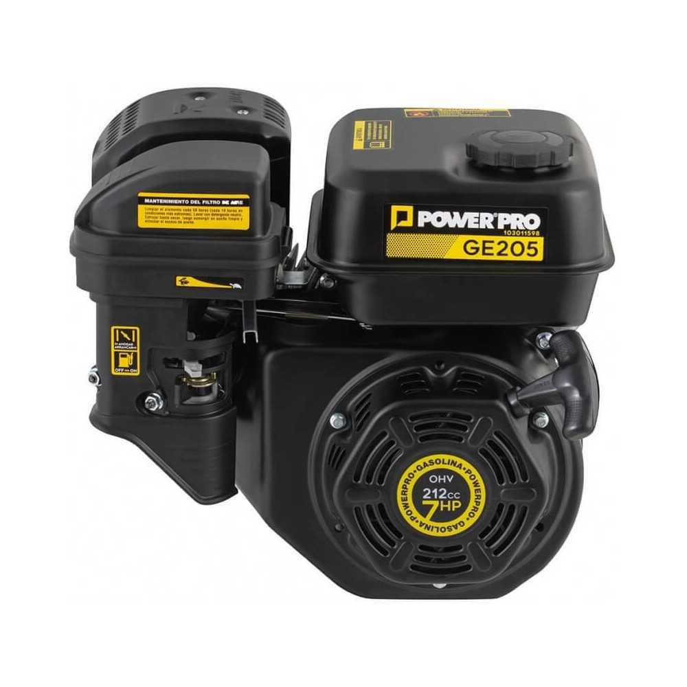 Motor Bencinero 6.5 hp Partida Manual GE205 Power Pro 103011598