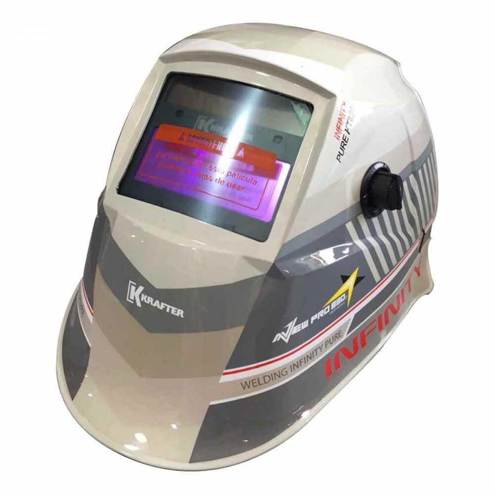 Máscara para soldar fotosensible New Pro KT 830 Krafter 4467000000201
