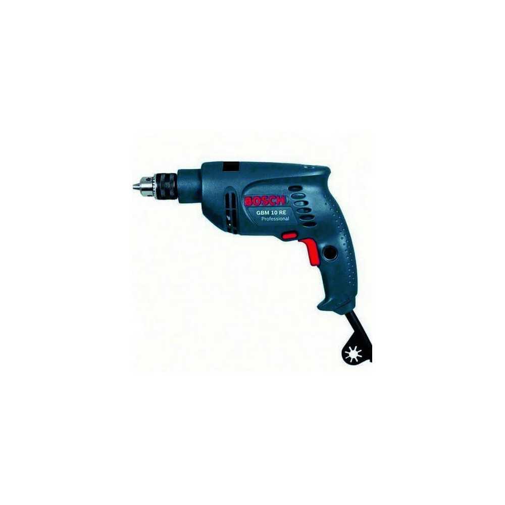 taladro rotación 600 W 2600 rpm 1,7 kg Bosch GBM 10 RE NEW