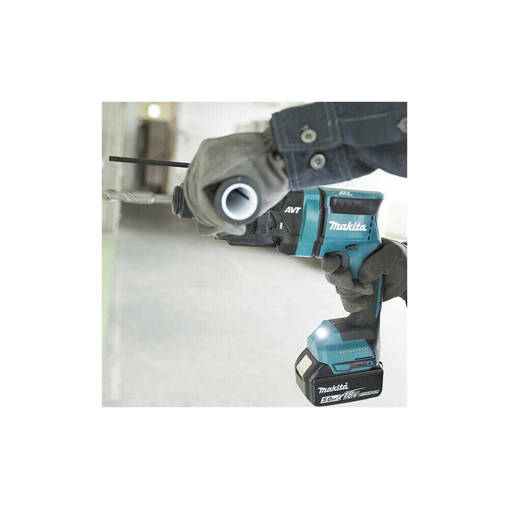 Rotomartillo Inalámbrico SDS-PLUS 18MM 18V Sin Batería ni Cargador Makita DHR182Z