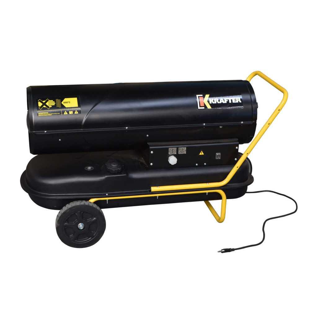 Turbo Calefactor Diésel 70 KW TD70 Krafter 1810000000070