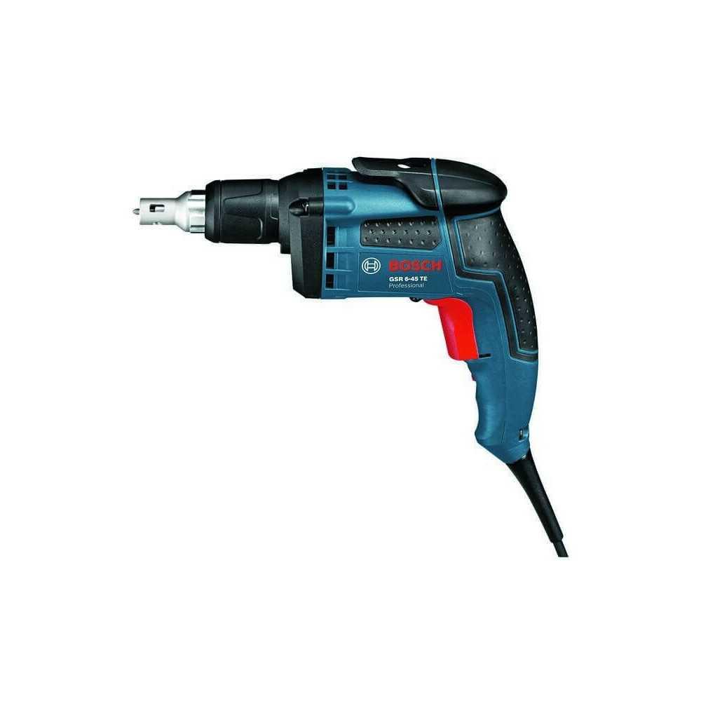 Atornillador 701 W 4500 rpm 1,4 kg Bosch GSR 6-45 TE
