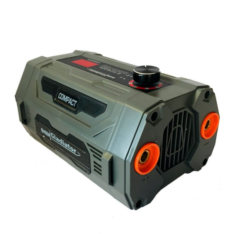 Soldadora COMPACT 170A +ESMERIL ANGULAR 155mm +BOLSO IE6170/220-AA6 Gladiator MI-GLA-052130