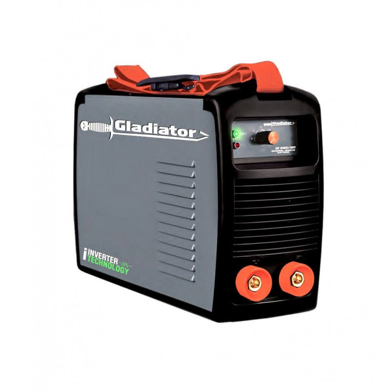 Soldadora INVERTER ARCO MANUAL ELECTRODO 140A IE 6140/1/220 Gladiator MI-GLA-051721