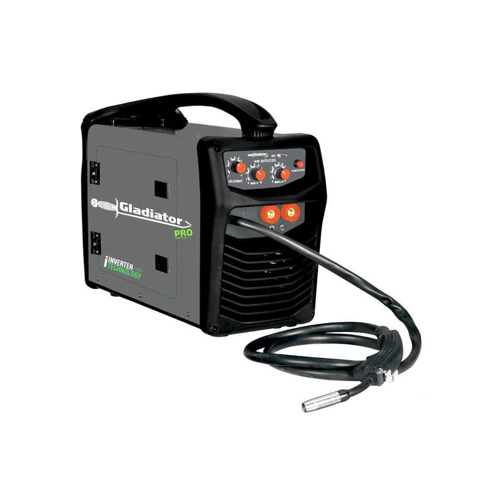 Soldadora Inverter MIG ELECTRODOS 170 AMP IME 8170/220 Gladiator MI-GLA-053245