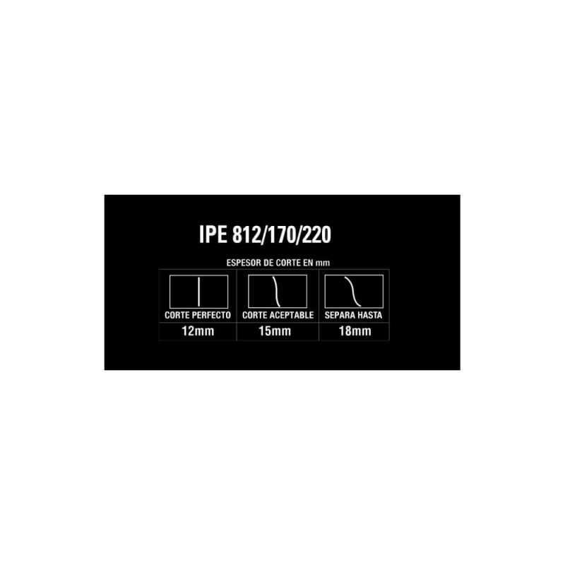 Soldadora Inverter y Cortadora de Plasma 170A IPE 812/170/220 Gladiator MI-GLA-051344