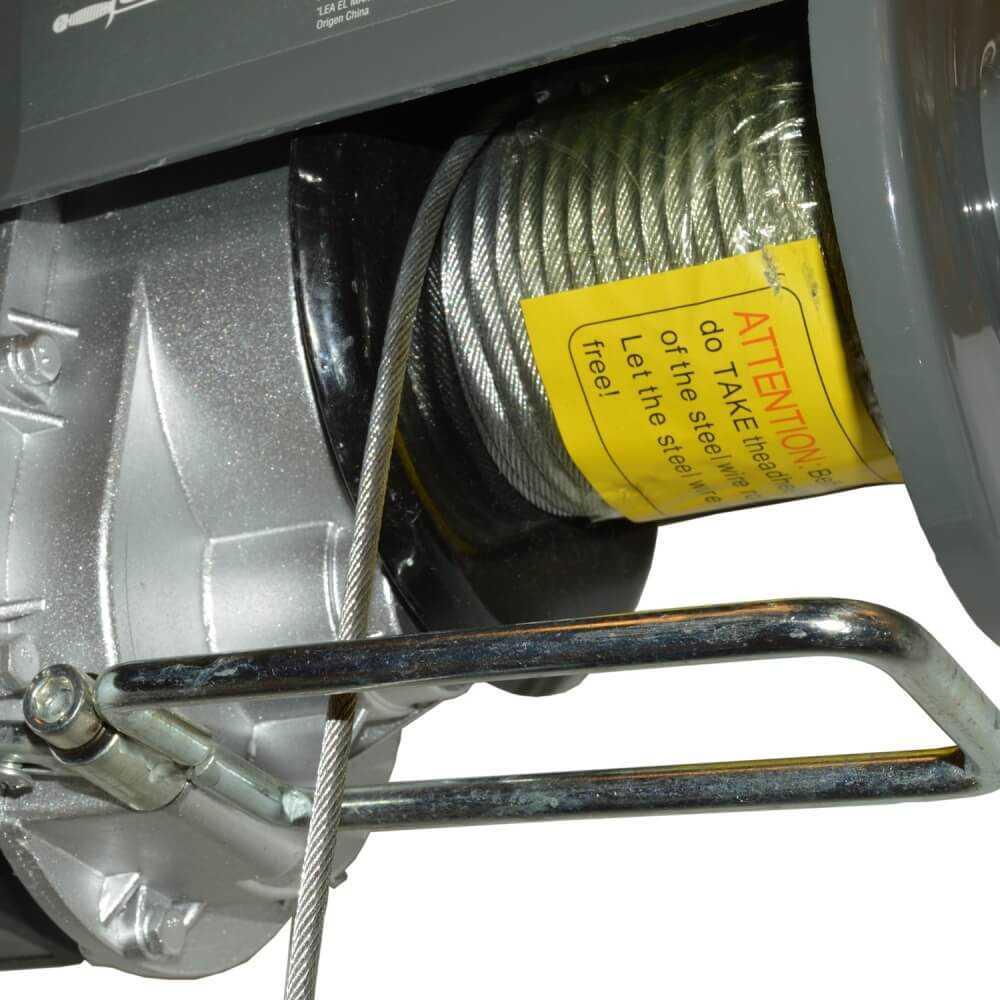Tecle Eléctrico 1000kg 1800w Alzada 6-12mts AP810 Gladiator MI-GLA-051736