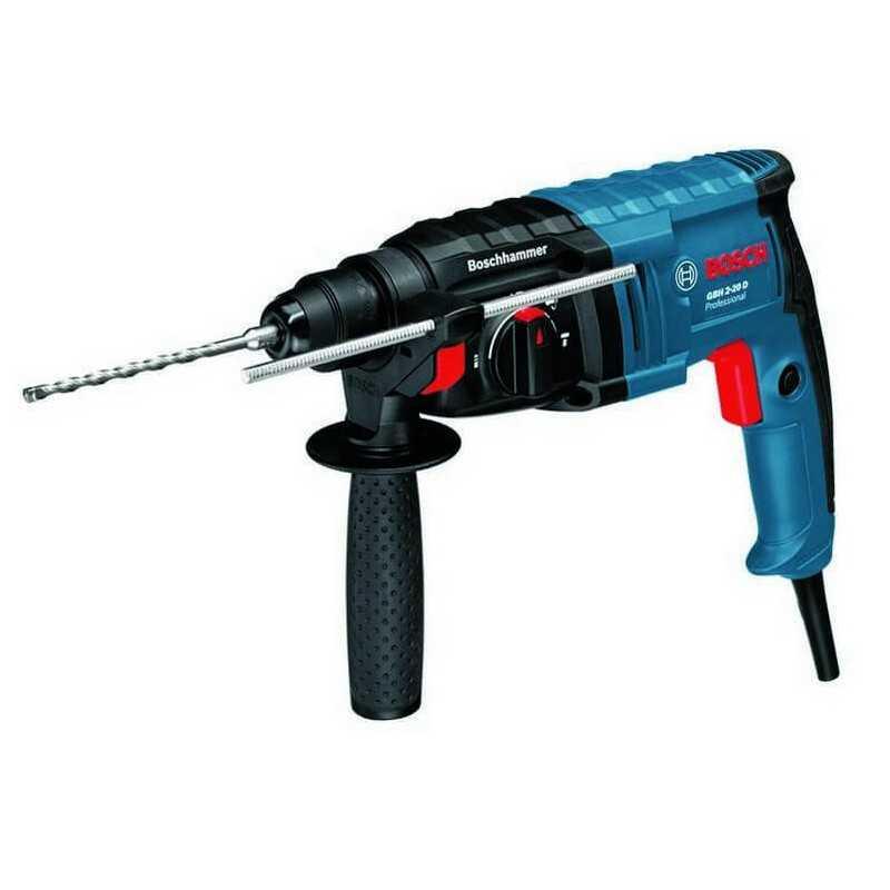 Martillo Perforador 650W 1,7 J 6150 rpm 2,3 kg Bosch GBH 2-20