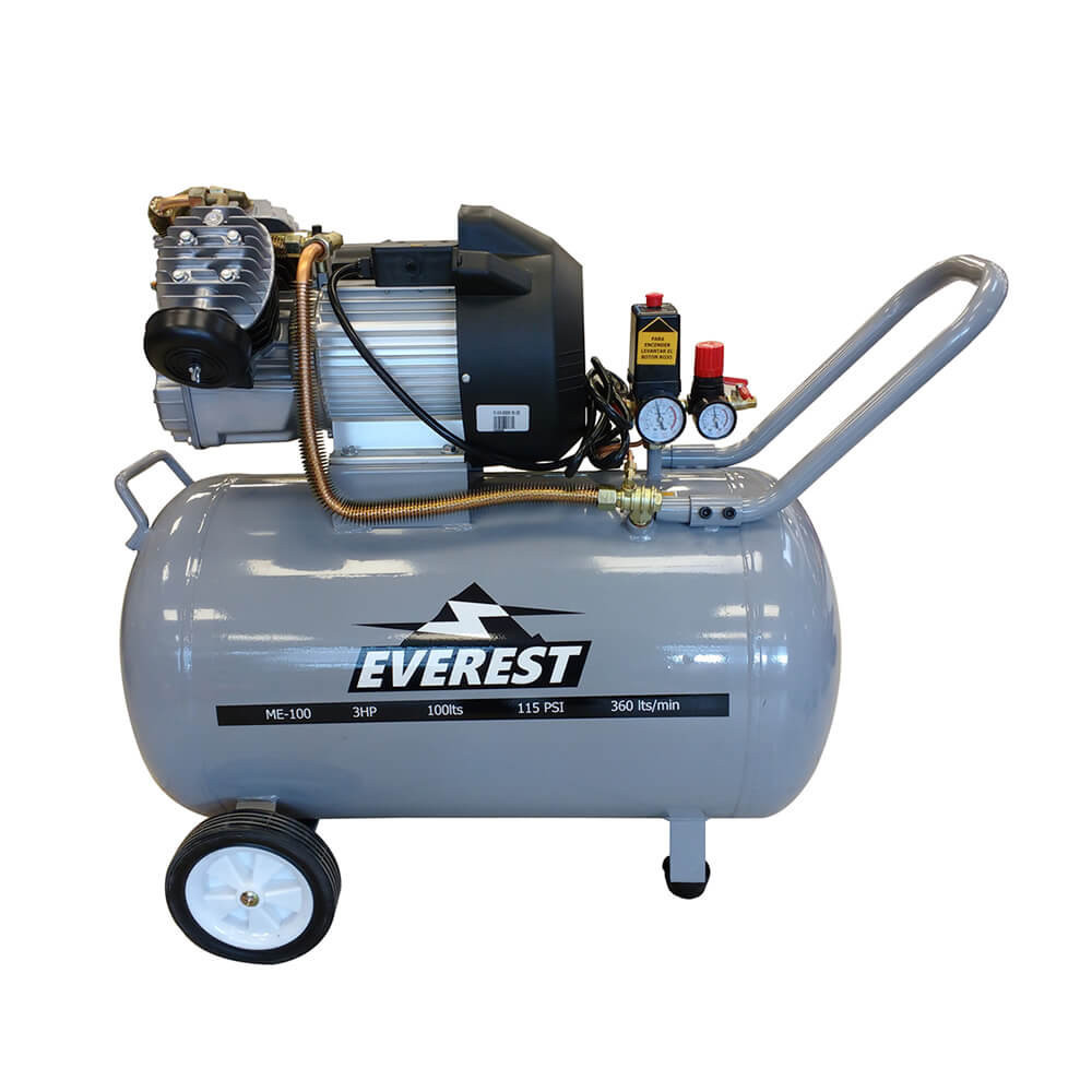 Motocompresor 100 litros 3hp 220V ME-100 Everest MI-EVE-050595