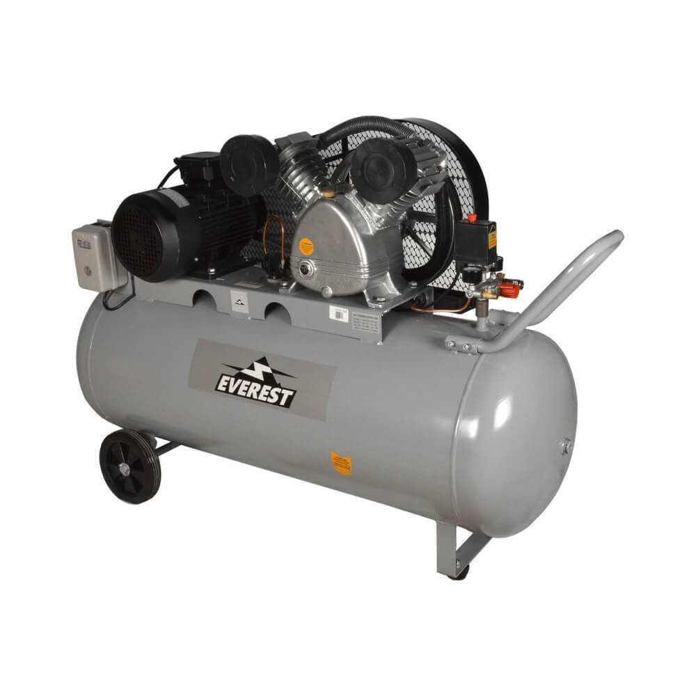 Compresor 5,5HP, 250Lts. 380V. CEV55250 Everest MI-EVE-053167