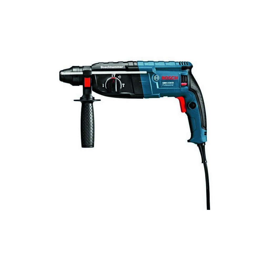 Rotomartillo 800 W 2,7 J 5100 gpm 2,8 kg Bosch GBH 2-24 D