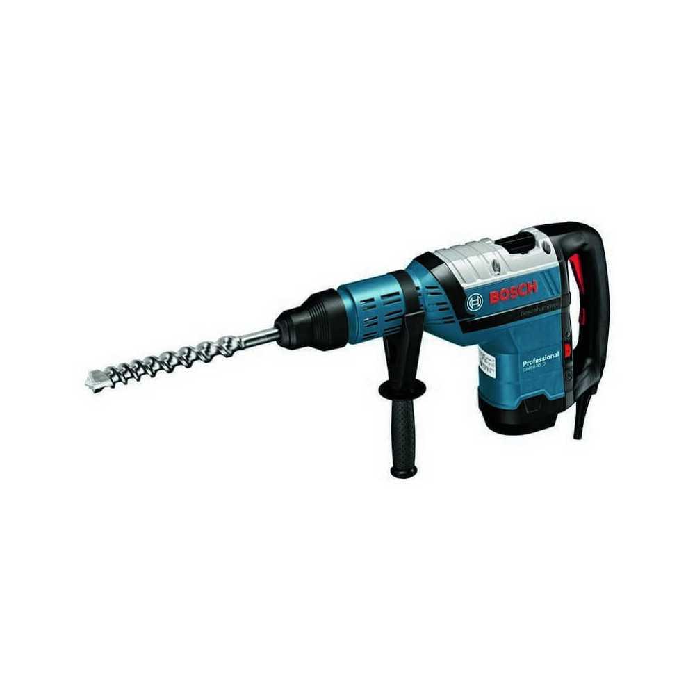 Martillo Perforador con SDS-Max 1500W 12,5 J 2720 gpm 8,2 kg Bosch GBH 8-45 D