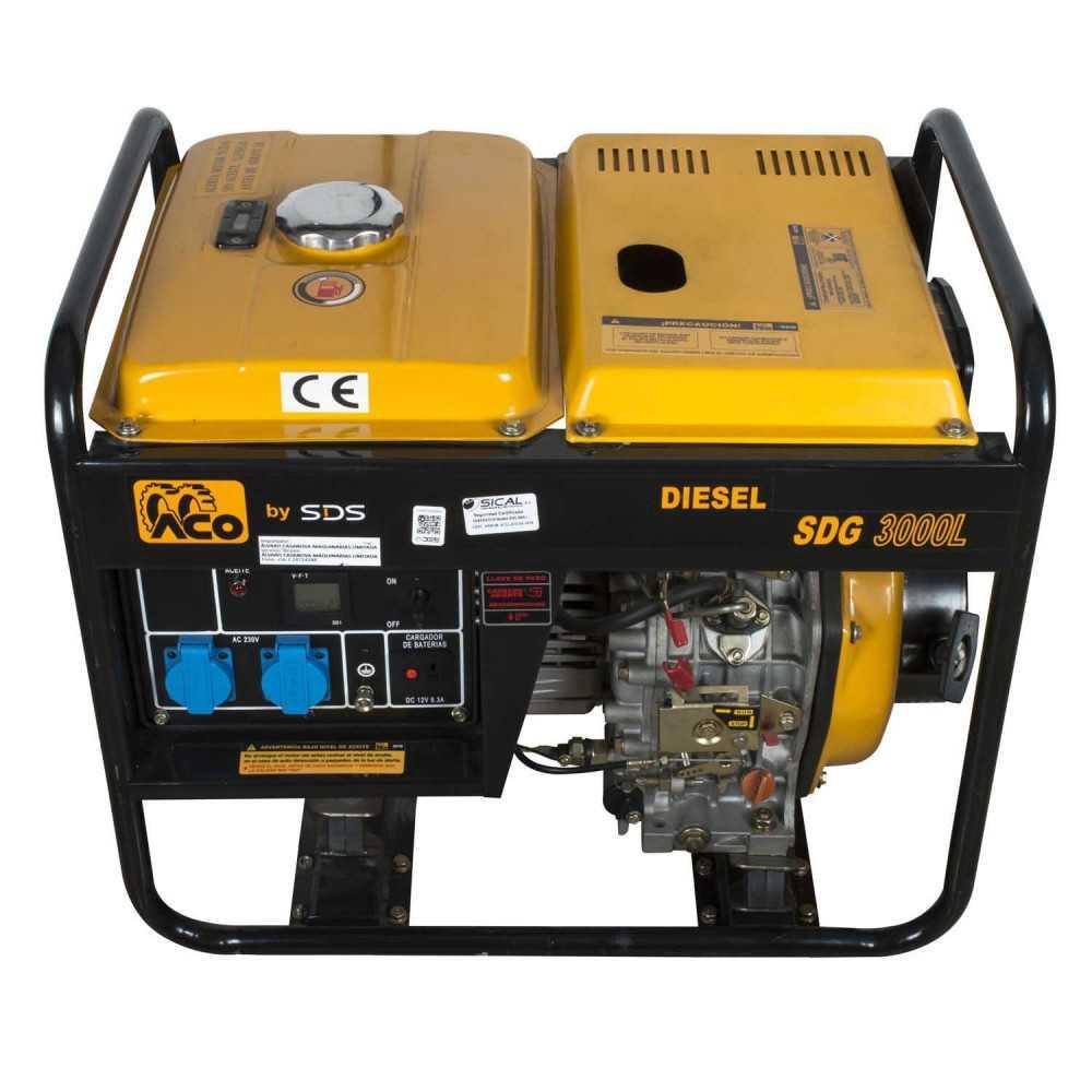 Generador Eléctrico Diesel 2.8kW SDG3000L Sds Power MI-SDS-36810