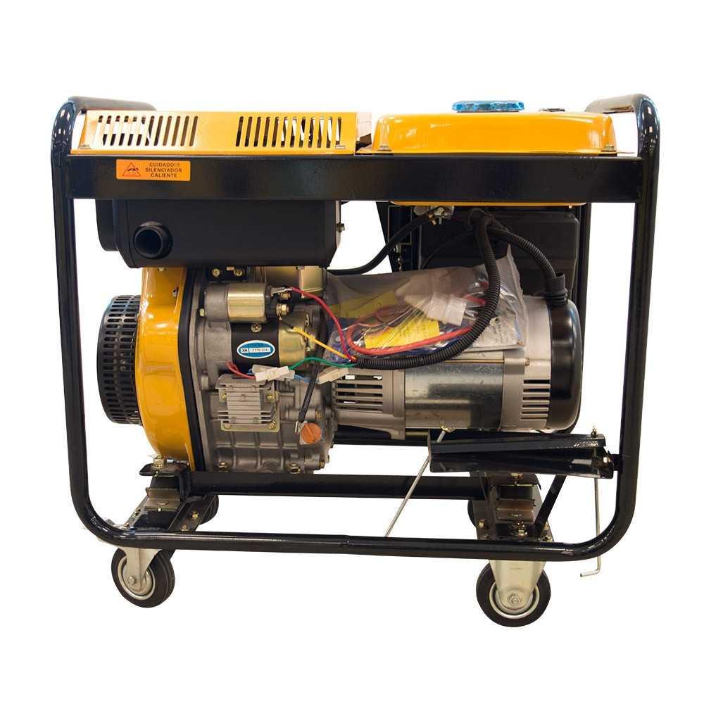 Generador Eléctrico Diesel 5.0kW SDG6500E Sds Power MI-SDS-36813