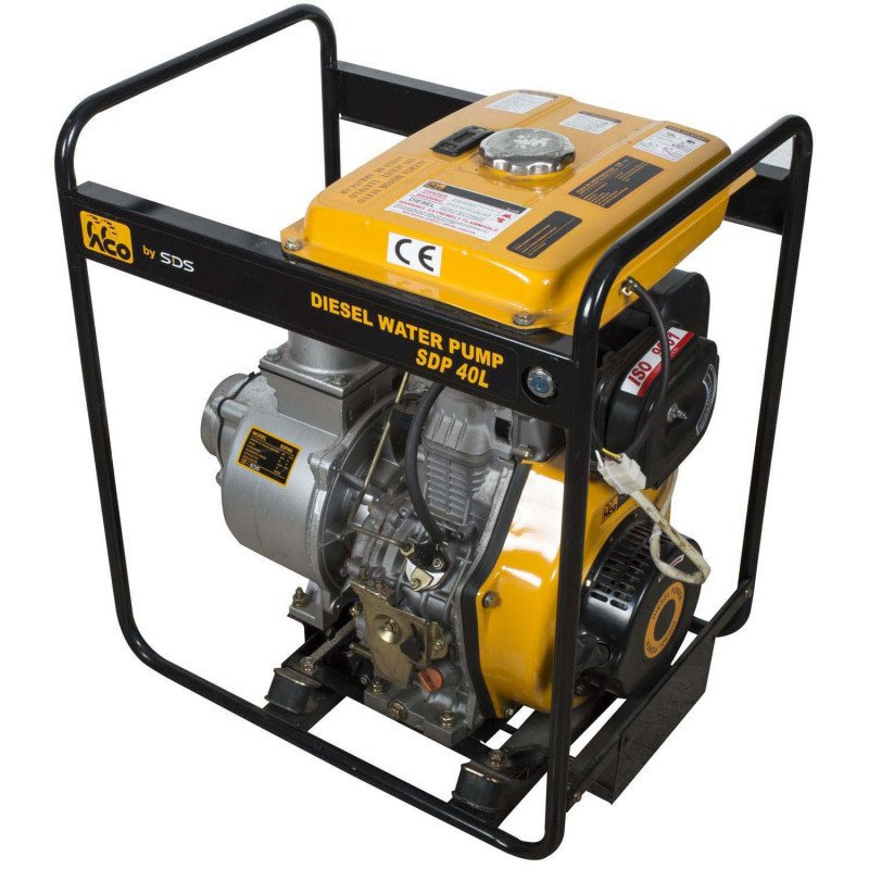 "Motobomba Diesel 4""x4"" 9.5 Hp SDP40L Sds Power MI-SDS-36825"