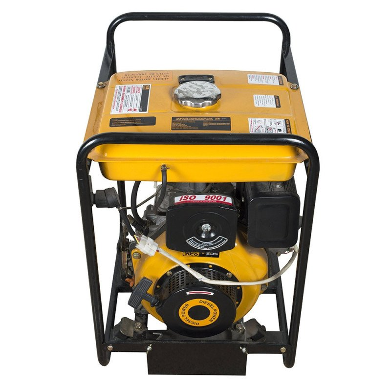 "Motobomba Diesel 3""x3"" 6 Hp Arranque electrico SDP30LE Sds Power MI-SDS-47395"