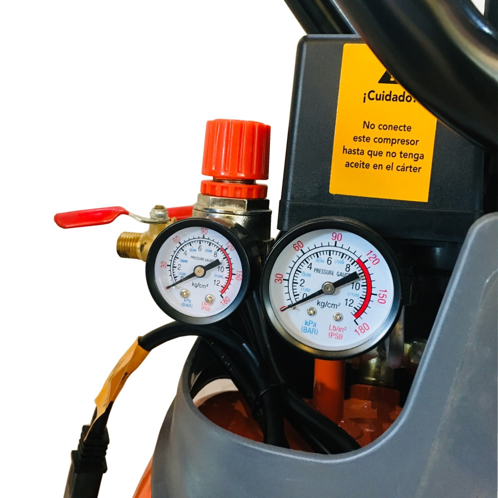 Motocompresor 24 Litros 2HP CE 624/220M Gladiator MI-GLA-050547