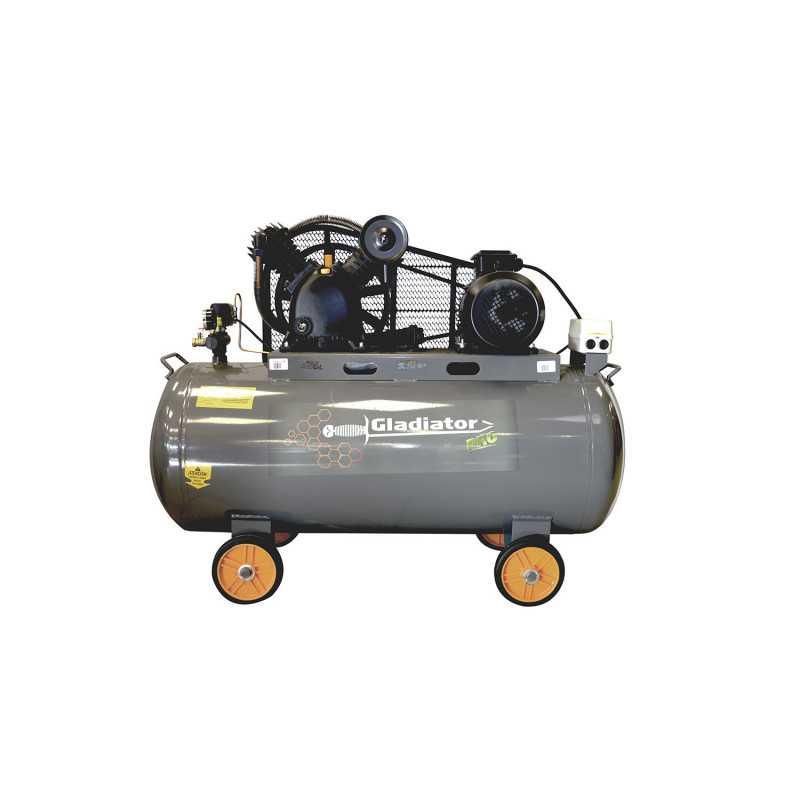 Compresor de aire Trifásico 5.5HP 250L 380V CE 8250/5.5/380T/50 Gladiator MI-GLA-051522