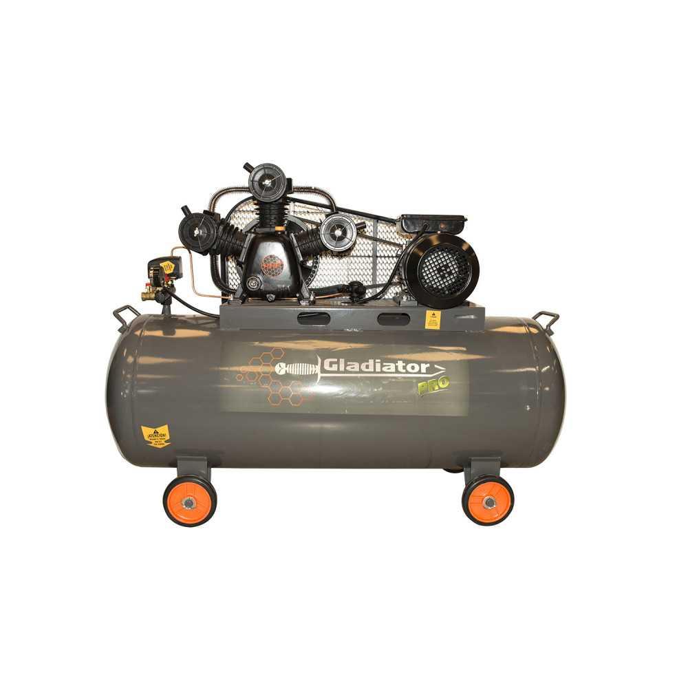 Compresor 4HP 200L CE 820/220/M/50/4 Gladiator MI-GLA-051734