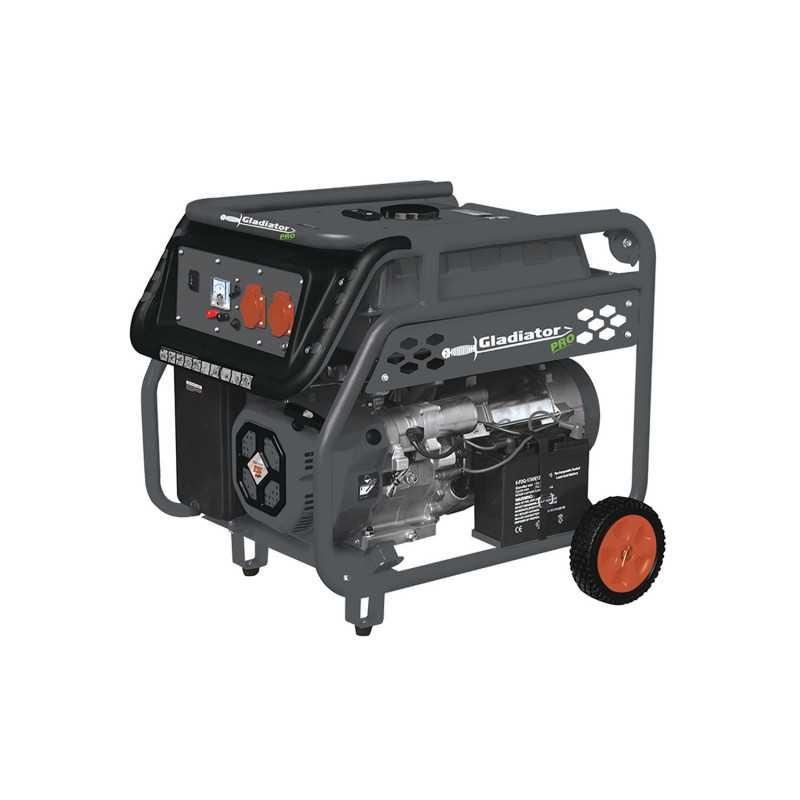 Generador Eléctrico Bencinero 6.3Kw GE 87500E/50 Gladiator MI-GLA-051931