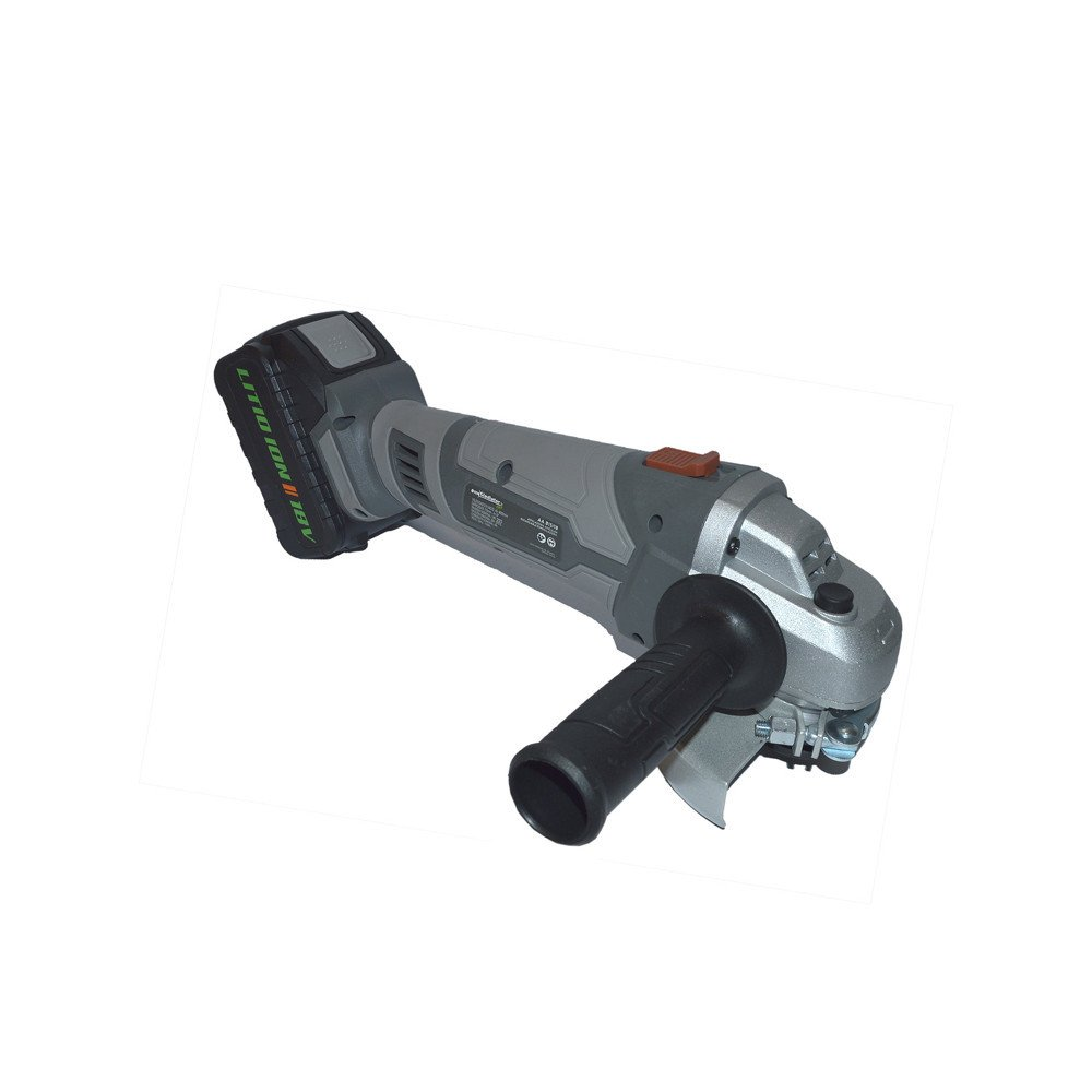 """Esmeril Angular Inalámbrico 4 1/2"""" 18V + 2 baterías + cargador AA815/18K2 Gladiator MI-GLA-052006"""