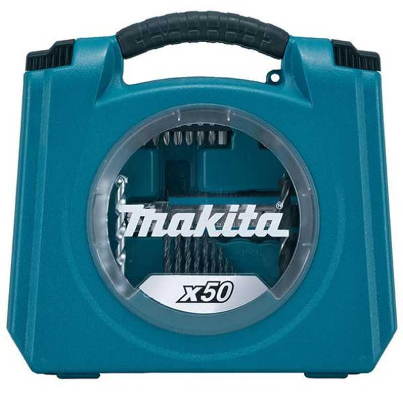 Set Accesorios Puntas y Herramientas Manuales 50 pzs Makita D-42313-6