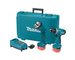 Taladro-Atornillador 10 mm Makita 6271DWPLE