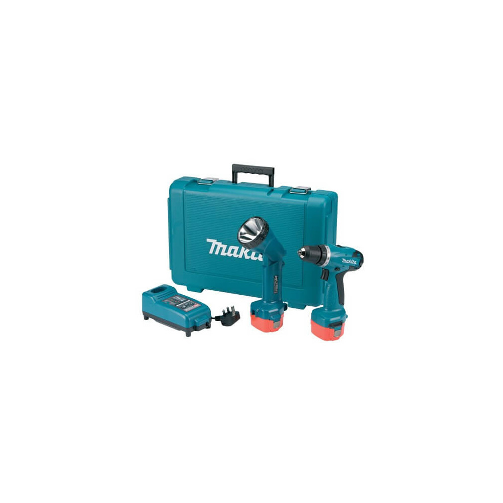 Makita Taladro-Atornillador 10 mm. Cod 6271DWPLE
