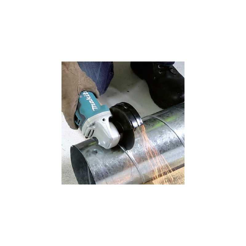 """Esmeril Angular Inalambrico 4-1/2"""" (2 baterías + cargador BL Motor, XPT) Makita DGA454RFE"""