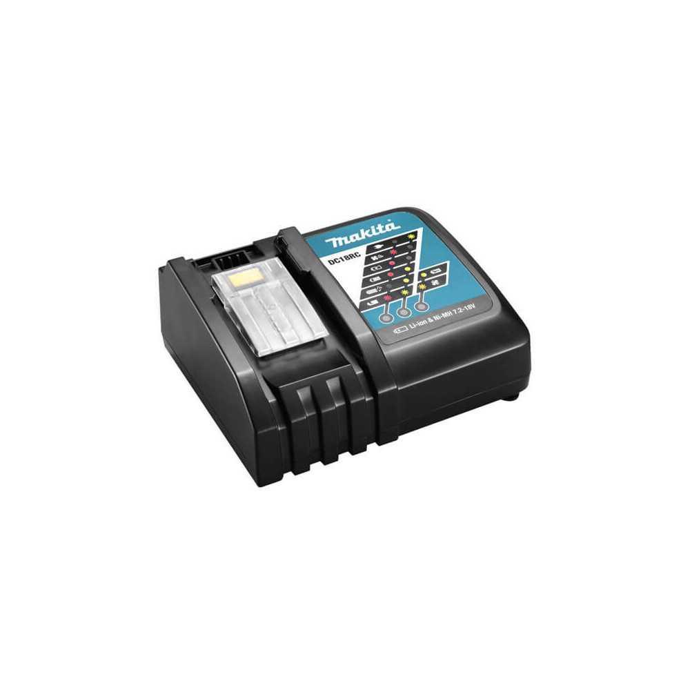 Cargador rápido de batería LXT 18V Litio-ion Makita DC18RC