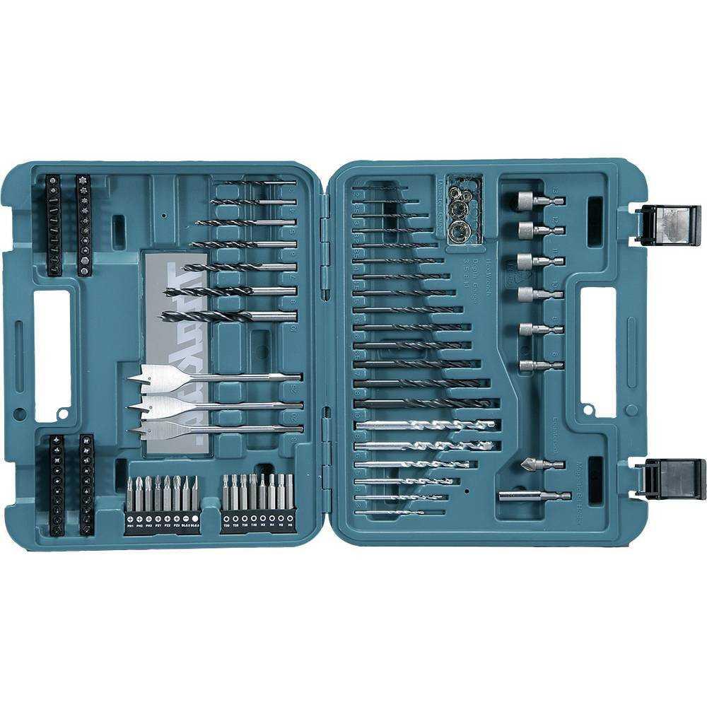 Set Accesorios 100 Pzs HSS-R Metal, Albañileria Makita D-47254-5
