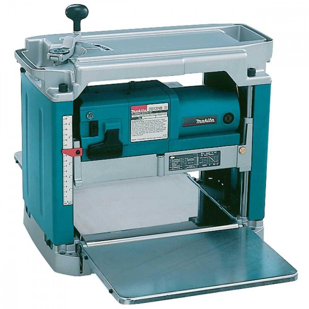 Cepillo de Banco 305 mm 1650 W Profundidad de Cepillado 3 mm Makita 2012NB