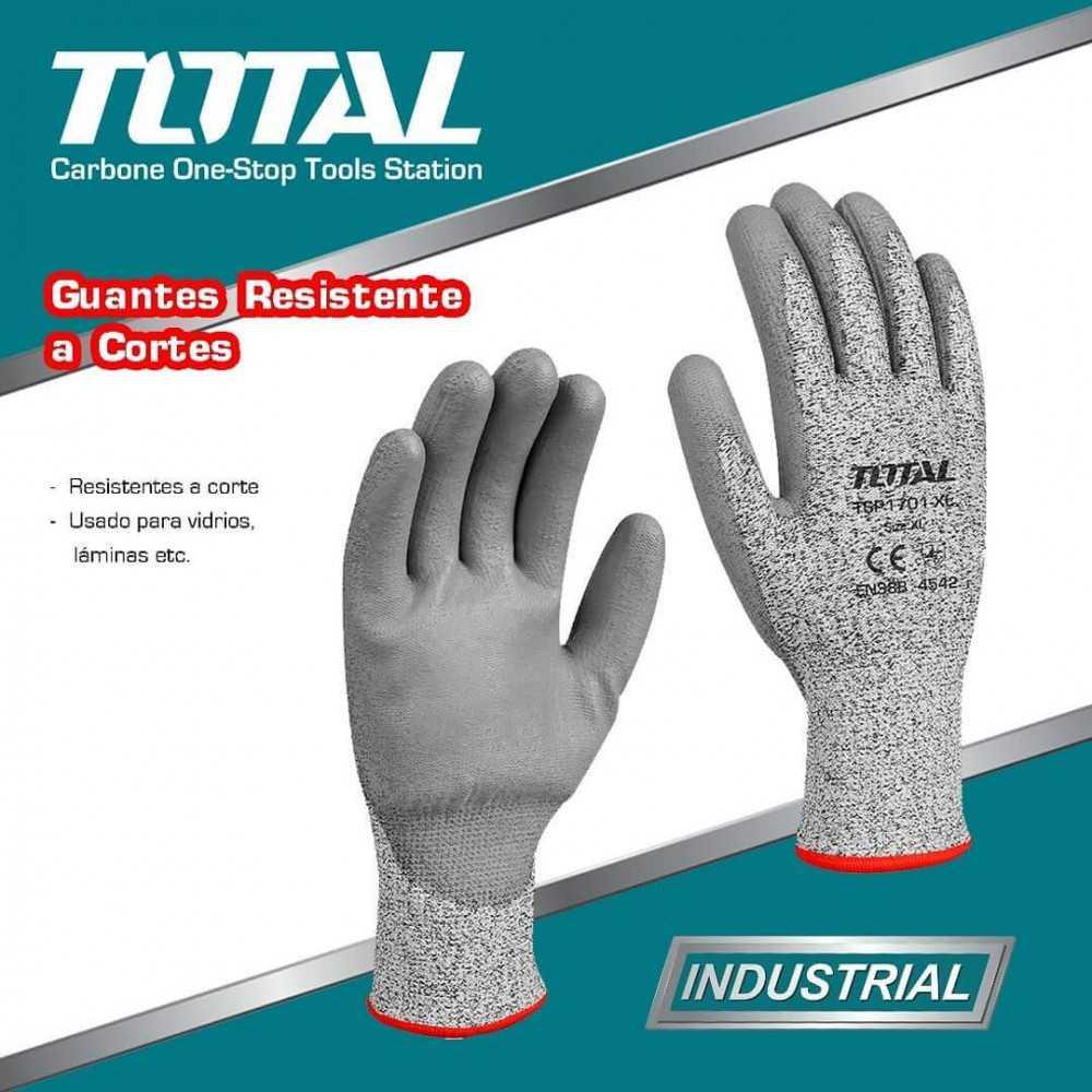 Guantes Anticorte Talla XL Total Tools TSP1701-XL