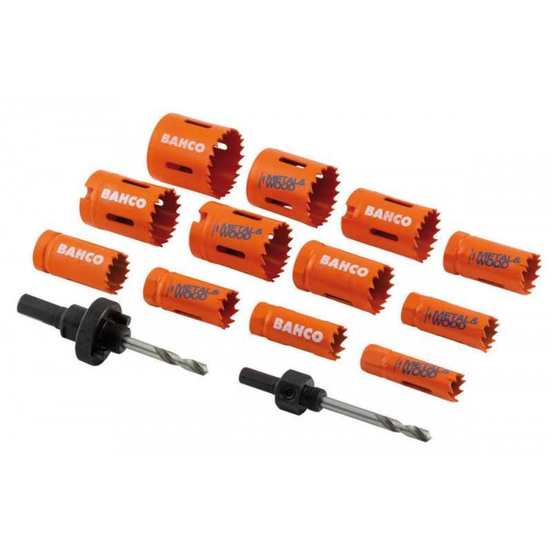 Set Sierras Copa Bi-metal Sandflex® 10 Pzs 20 a 76mm Bahco 3834-PROMO-82