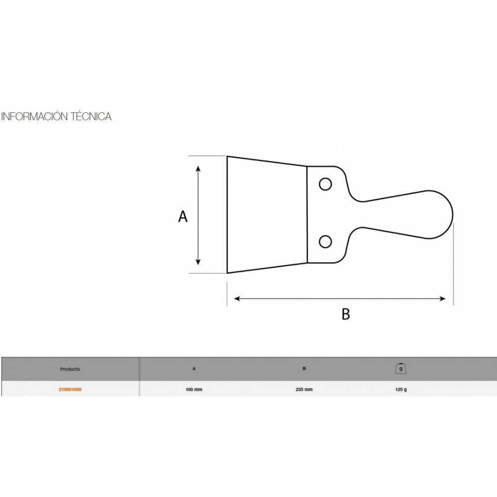Espátula de emplastecer 10 CM Bahco 219001000
