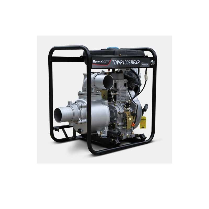 """Motobomba Diesel 4""""x4"""" 10.5 HP TDWP100SBEXP Toyama 116-054"""