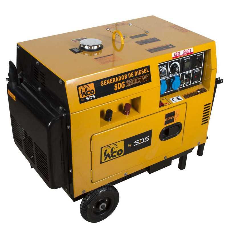 Motosoldadora diesel 160A 2.2 Kw SDG 6500 SWH. Sds Power MI-SDS-36822