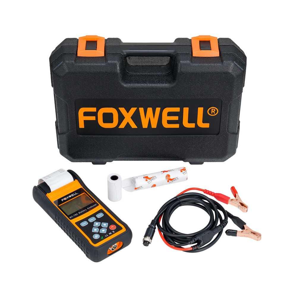 Tester de Batería con impresora 12/24 V BT-780. Foxwell MI-FOX-053340