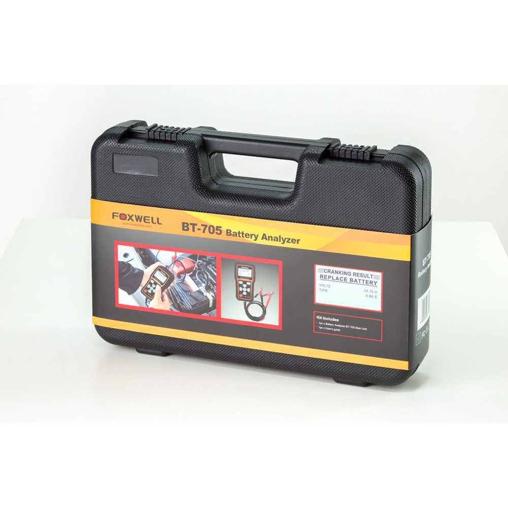 Tester de Batería 12/24 V BT705. Foxwell MI-FOX-053341
