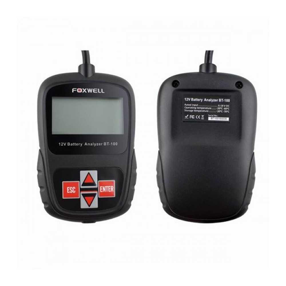 Tester de Batería 12V BT100 Foxwell MI-FOX-053563