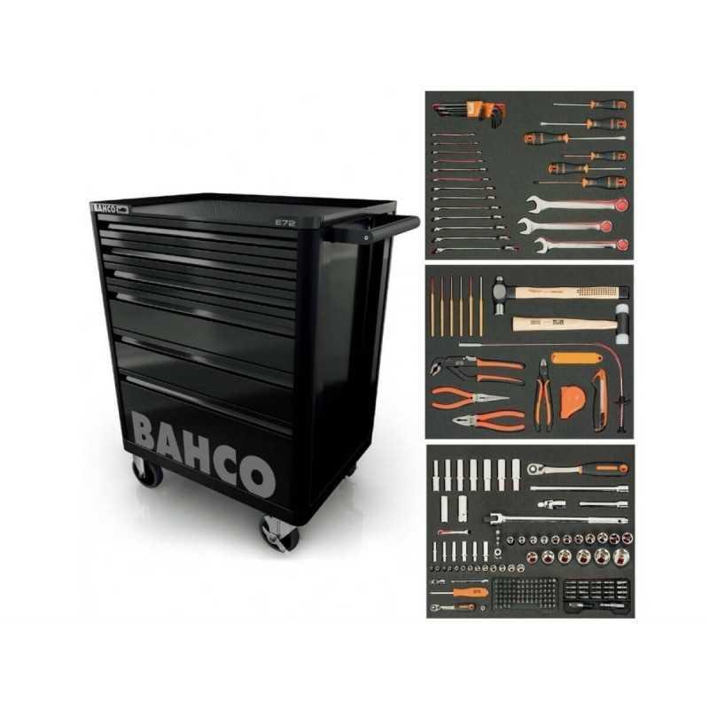 Carro Porta herramientas 6 cajones 215 pzs Bahco 1472K6-M215