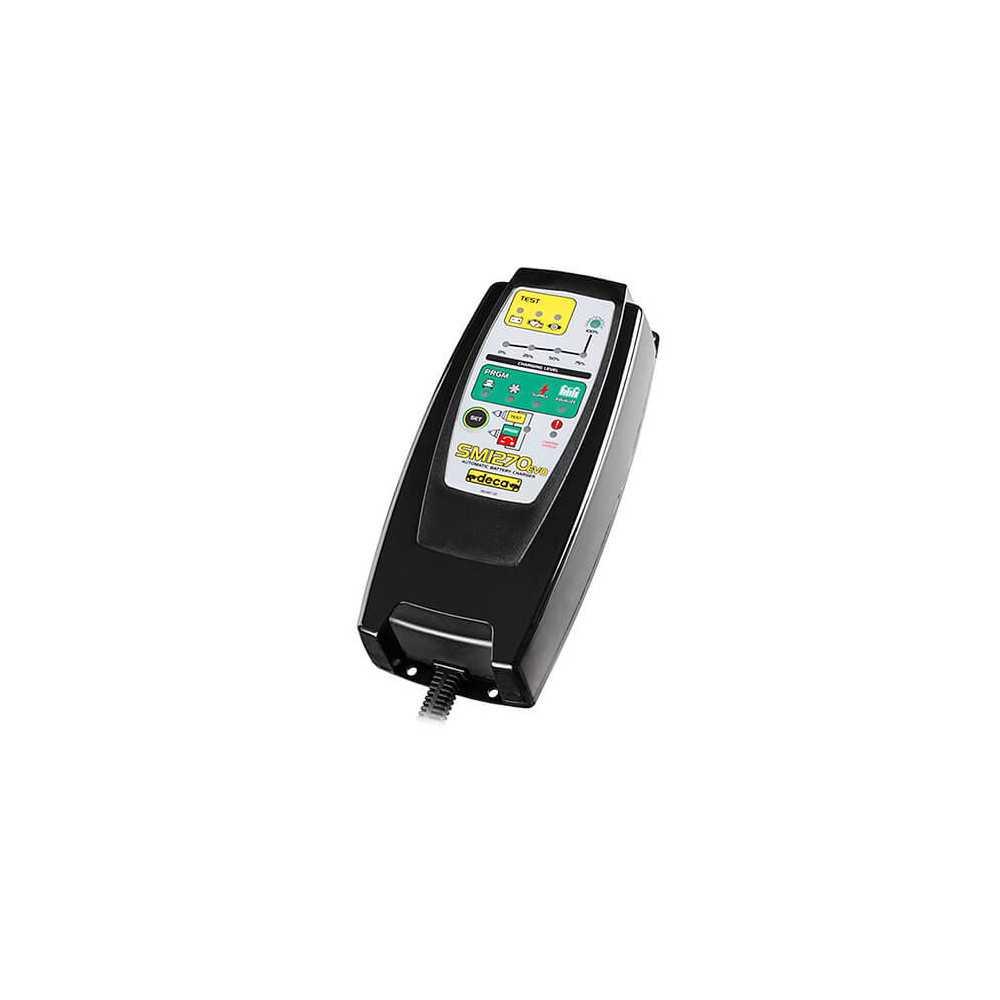 Cargador de Batería 12V SM1270 (301000) Deca MI-DCA-050511