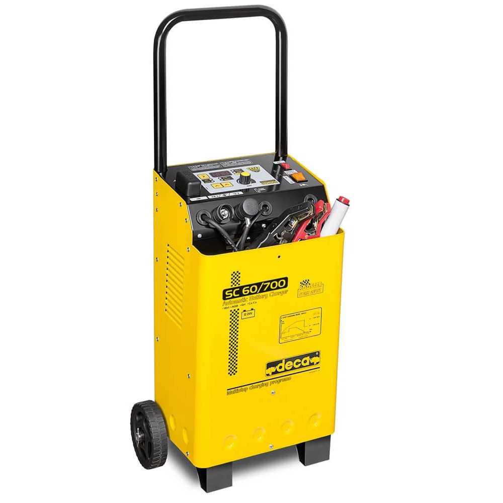 Cargador Partidor de Baterias 12/24 V SC 60/700 (330200) Deca MI-DCA-051800